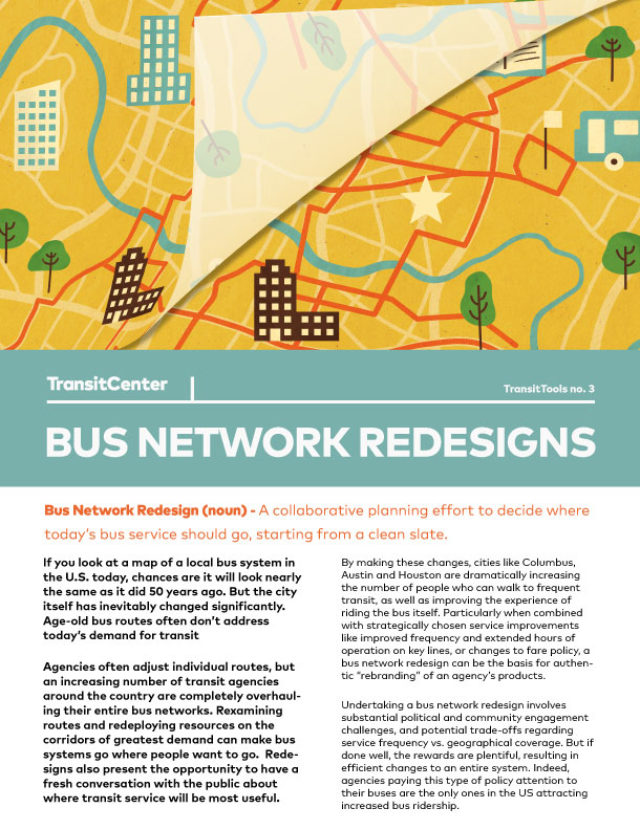 Image for: Bus Network Redesign