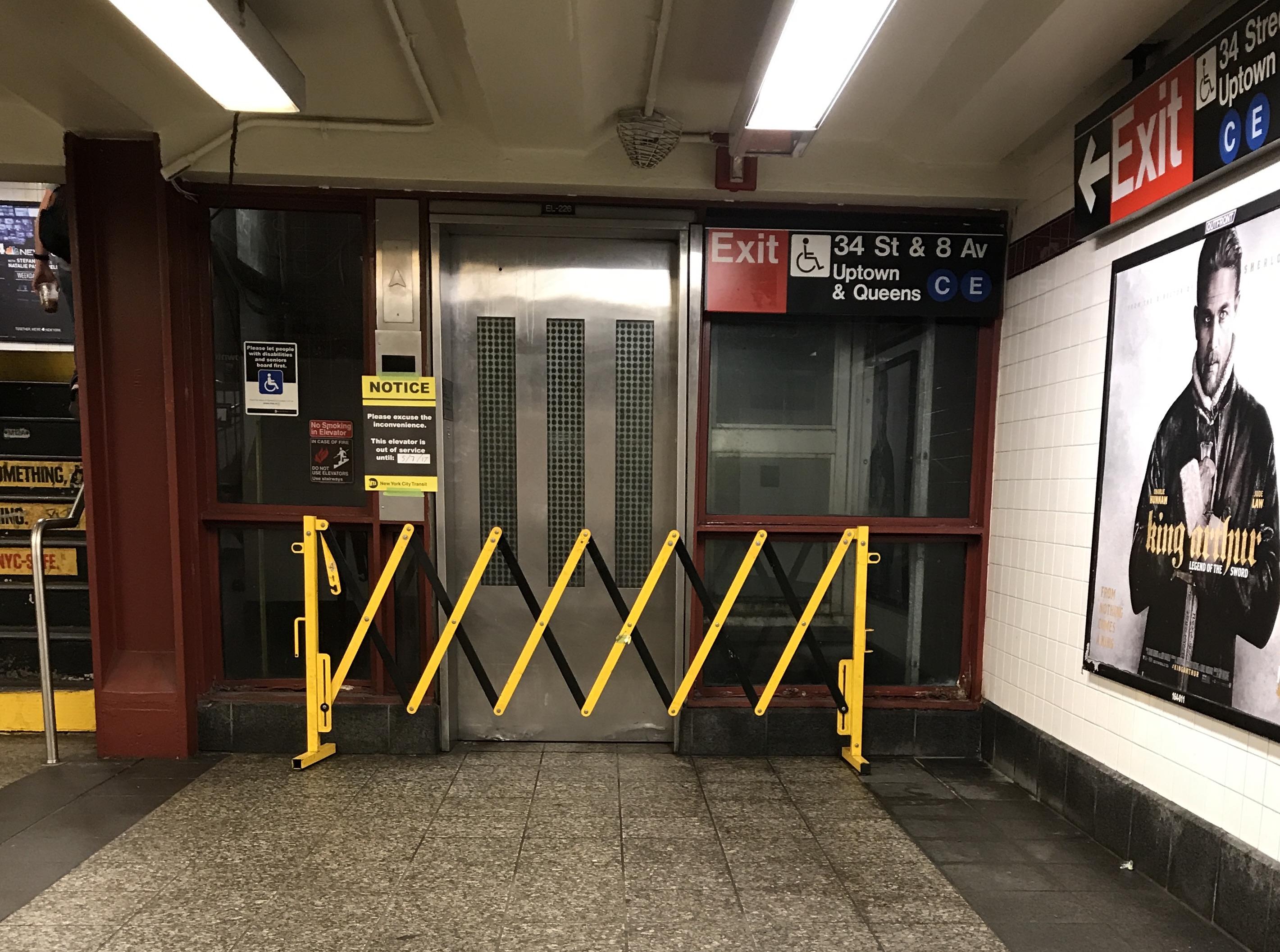 Mta Subway Map Elevators.I Got 99 Problems And They Re All Subway Elevators Transitcenter