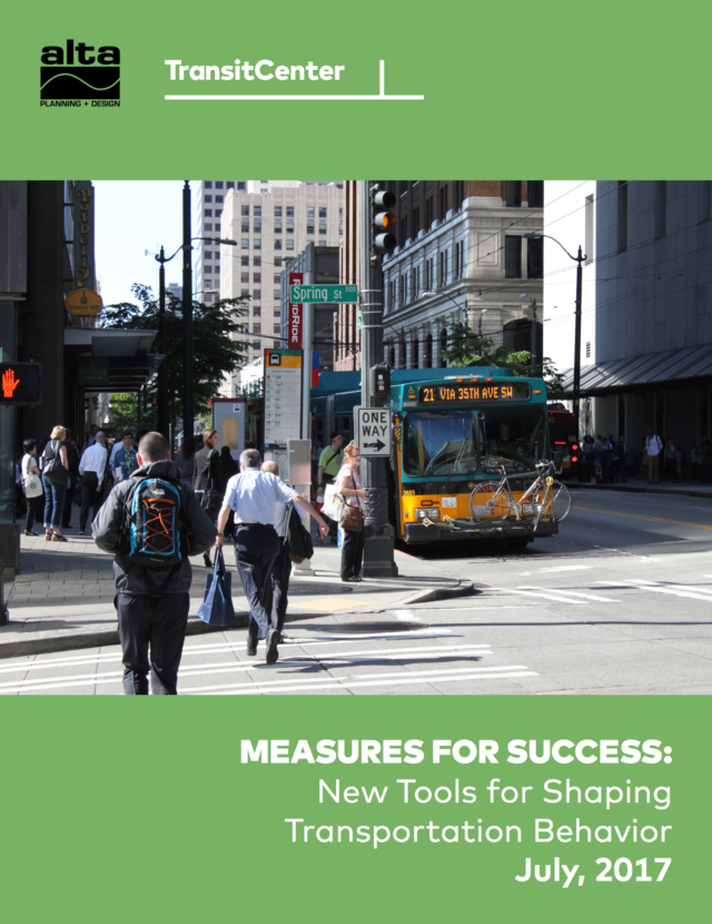 Image for: Measures For Success: New Tools for Shaping Transportation Behavior
