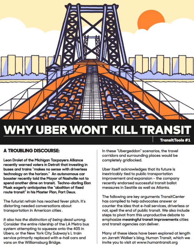 Image for: Why Uber Won't Kill Transit