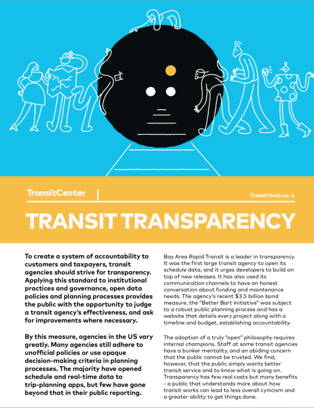 Transit Transparency TransitTool Cover