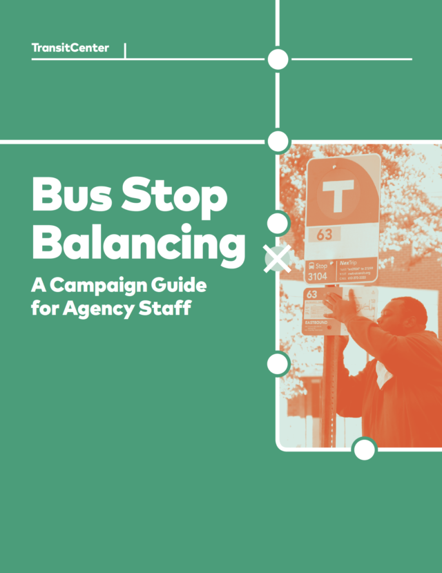 Cover for the Bus Stop Balancing report
