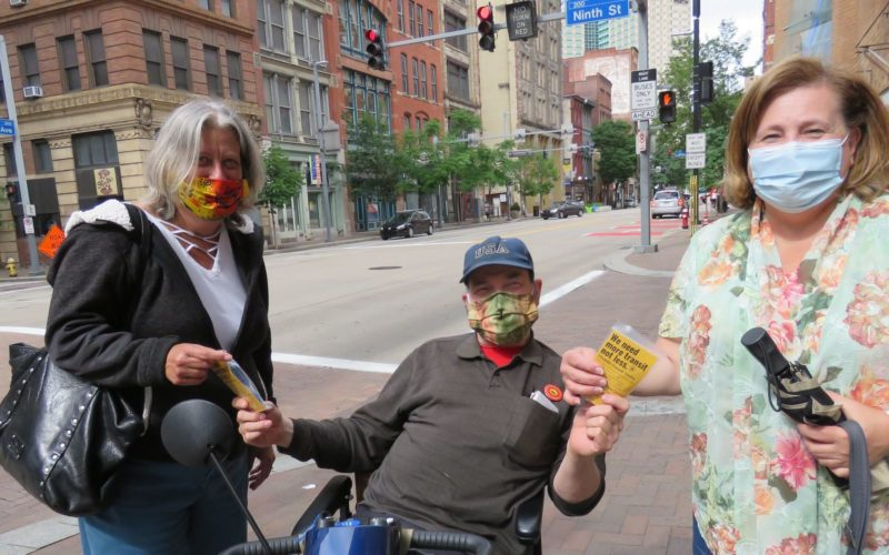 Image for: Beyond Mandates: Advocates Mobilize to Give Riders Masks