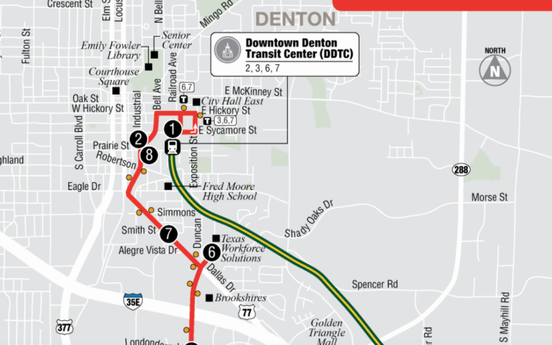 Image for: No Go Zone: Behind the Plan to Shrink the Bus System in Denton, Texas