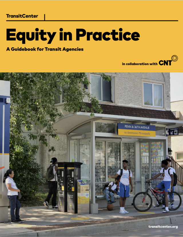 Image for: Equity in Practice: A Guidebook for Transit Agencies